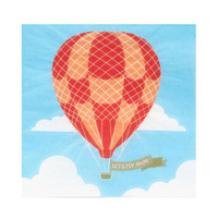 Up. Up and Away Beverage Napkins