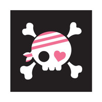 Pretty Pirates Party Beverage Napkins