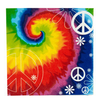 Tie Dye Fun Lunch Napkins