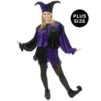 Jester Adult Plus Costume