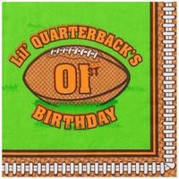 Lil' Quarterback 1st Napkins