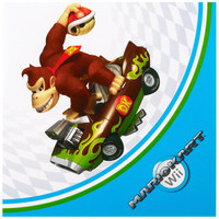 Mario Kart Wii Lunch Napkins