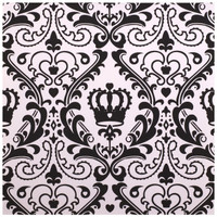 Elegant Princess Damask Lunch Napkins