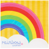 Rainbow Wishes Lunch Napkins