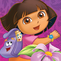 Dora's Flower Adventure Lunch Napkins