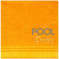 Splashin' Pool Party Lunch Napkins