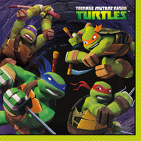 Nickelodeon Teenage Mutant Ninja Turtles Lunch Napkins