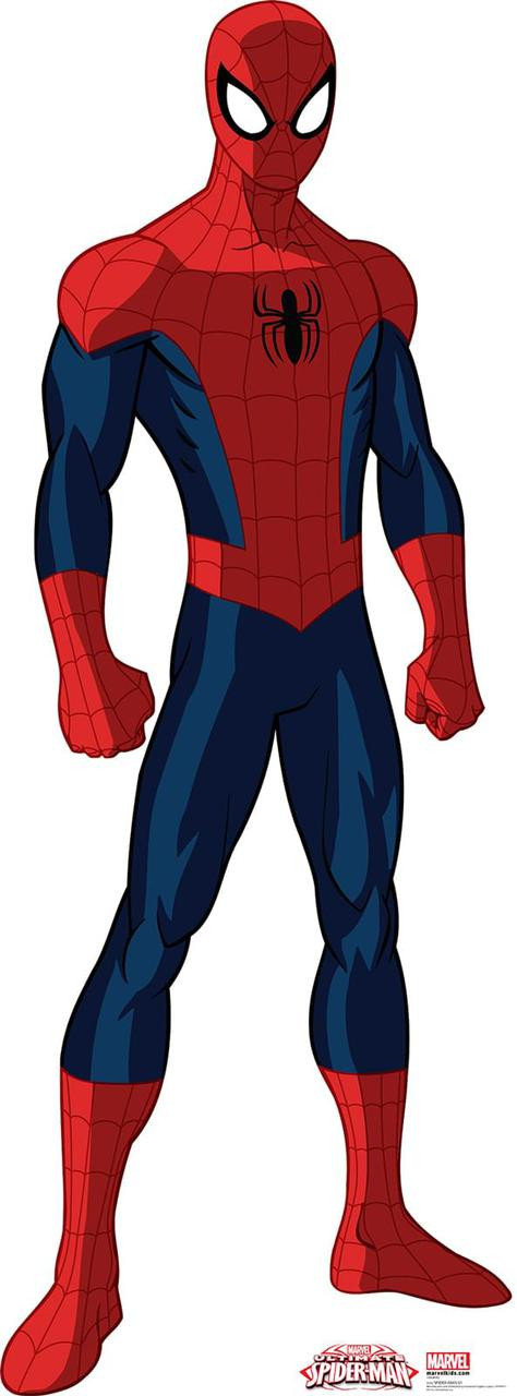 spiderman standup 6 tall thepartyworks
