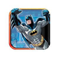 Batman Heroes and Villains Square Dessert Plates