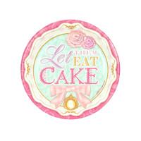 Let Them Eat Cake Dessert Plates