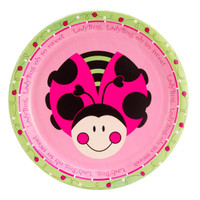 LadyBugs: Oh So Sweet Dinner Plates