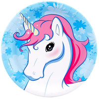 Enchanted Unicorn Dinner Plates