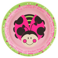 Ladybugs: Oh So Sweet 2nd Birthday Dinner Plates