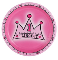 Lil' Princess 1st Birthday Dinner Plates