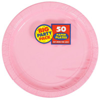 New Pink Big Party Pack Dinner Plates