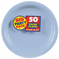 Pastel Blue Big Party Pack Dinner Plates