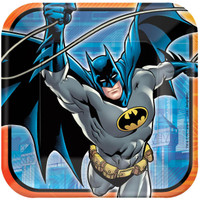 Batman Heroes and Villains Square Dinner Plates