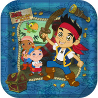 Disney Jake and the Never Land Pirates Dinner Plates