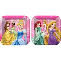 Disney Very Important Princess Dream Party Square Dinner Plates