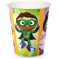Super Why! 9 oz. Paper Cups