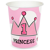 Lil' Princess 1st Birthday 9 oz. Cups
