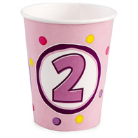 Girl's Lil' Cupcake 2nd 9 oz. Cups