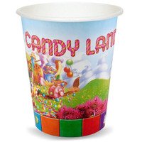 Candy Land 9 oz. Cups