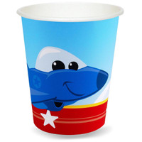 Airplane Adventure 9 oz. Paper Cups