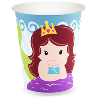 Mermaids 9 oz. Paper Cups