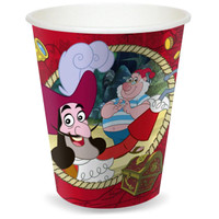 Disney Jake and the Never Land Pirates 9 oz. Paper Cups