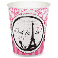 Paris Damask 9 oz. Paper Cups