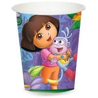 Dora's Flower Adventure 9 oz. Paper Cups