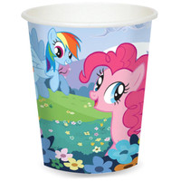 My Little Pony Friendship Magic 9 oz. Paper Cups