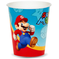 Super Mario Party 9 oz. Paper Cups