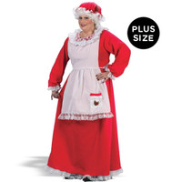 Mrs. Claus Adult Plus Costume