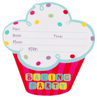 Baking Bash Invitations