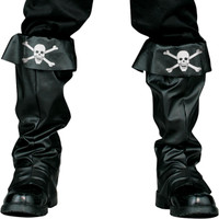 Pirate Boot Covers Adult