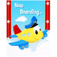 Airplane Adventure Invitations