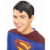 Superman Vinyl Wig Adult
