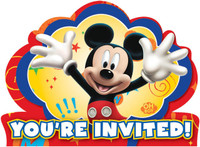 Disney Mickey Fun and Friends Invitations
