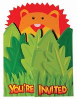 Jumbo Safari Invitations