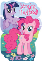 My Little Pony Friendship Magic Invitations
