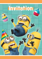 Minions Despicable Me - Invitations