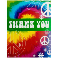 Tie Dye Fun Thank-You Notes