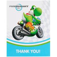 Mario Kart Wii Thank-You Notes