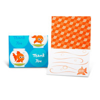 Goldfish Thank-You Notes