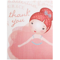 Ballerina Tutu Thank-You Notes
