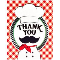 Itzza Pizza Party - Thank-You Notes