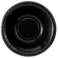 Black Velvet (Black) Plastic Bowls