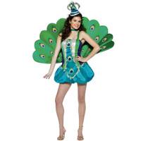 Peacock Gal Teen Costume